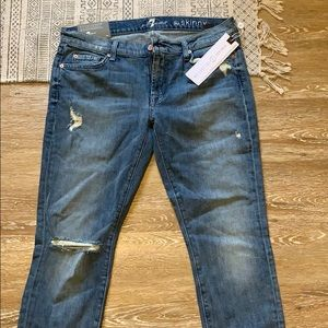7 for all mankind jeans New with tags